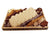 Deluxe Halvah log Chocolate platter