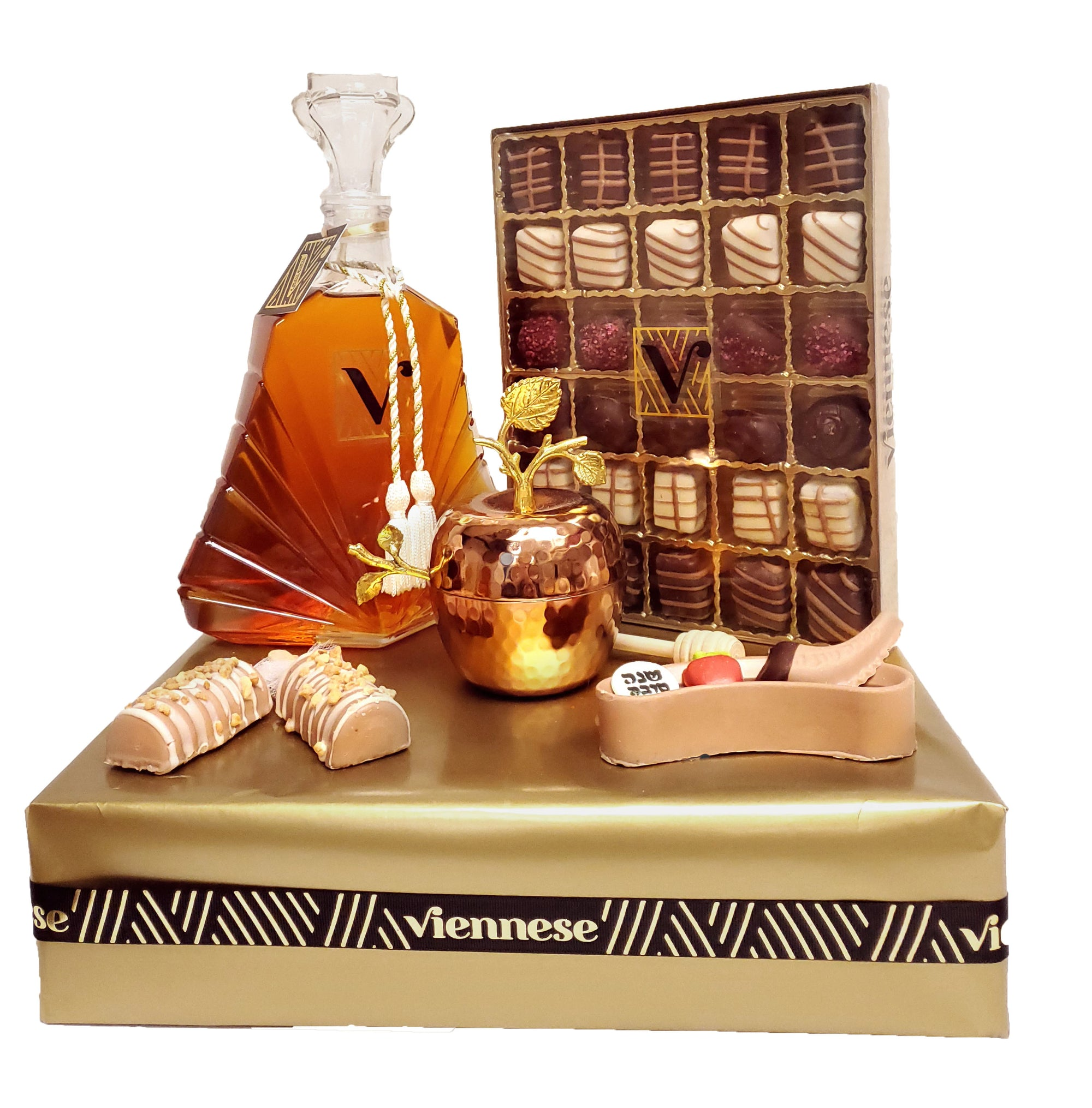 Rosh Hashanah diamond Honey Chocolate Gift Arrangement