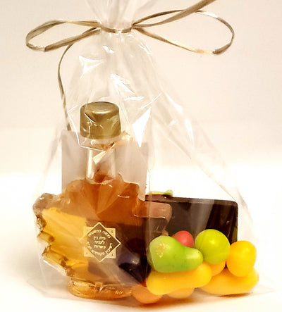 Rosh Hashanah Shanah Tovah Chocolate Honey Gift