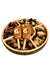Wood 5 section Chocolate Gift Platter Sukkots