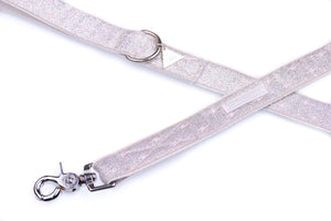 Silver Sparkly Luxury Dog Lead