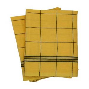 Tea towel Bistro - Yellow