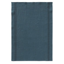 Load image into Gallery viewer, Tea towel Country - Petrol Blue