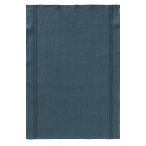 Tea towel Country - Petrol Blue