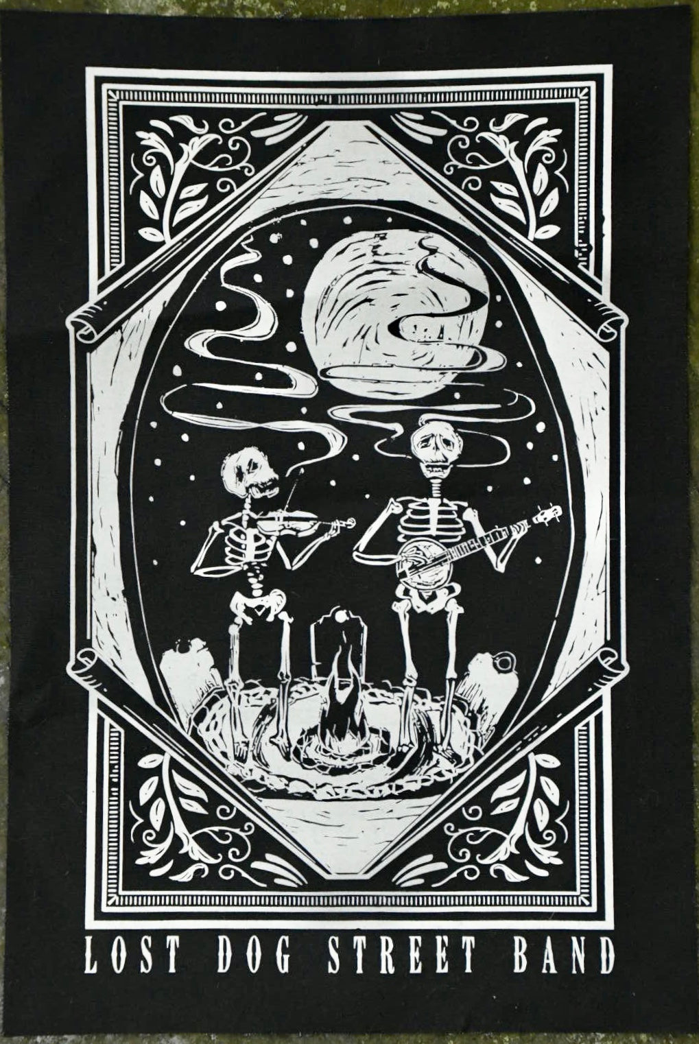 Merch: Lost Dog Street Band Back Patch