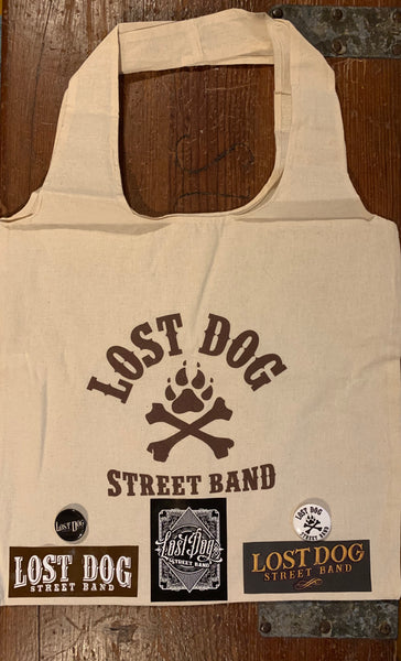 MERCH: Lost Dog Street Band Small Merch Packages