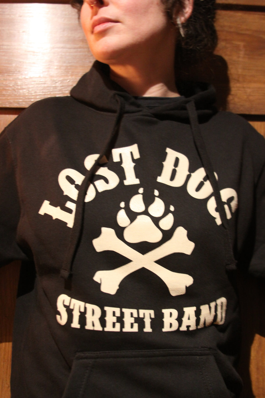 Hoodie: Lost Dog Street Band - Logo
