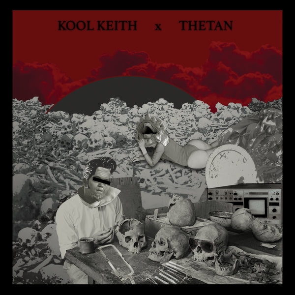"ALBUM: Kool Keith x Thetan - Space Goretex (Vinyl LP/CD/Cassette + Complicated Trip 12"" bundle)"