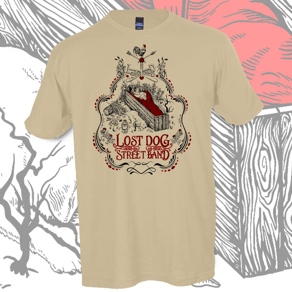 SHIRT: Lost Dog Street Band - Coffin