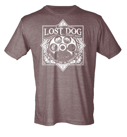 SHIRT: Lost Dog Street Band - Weight Of A Trigger T Shirt