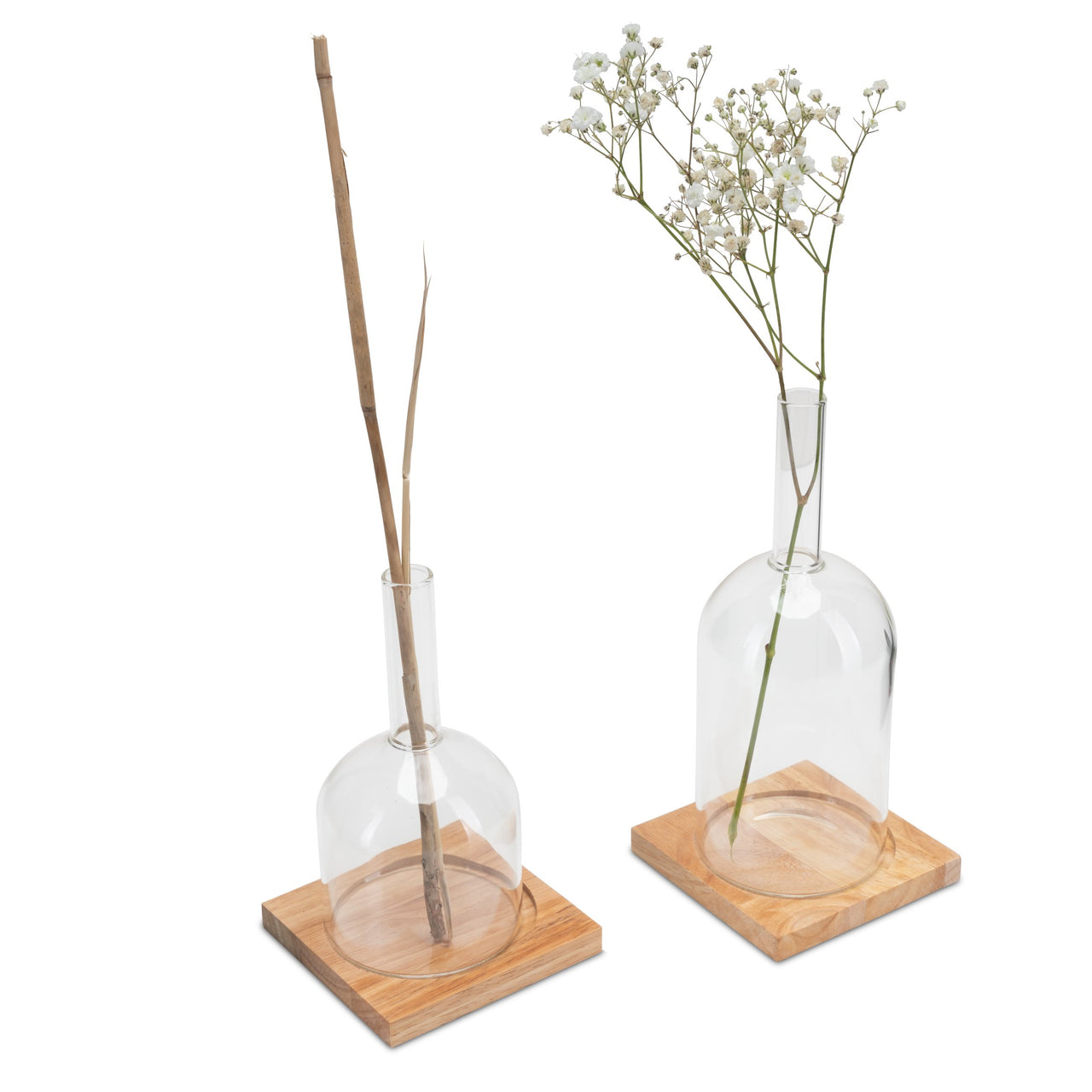 Dopio Spere Flaschenvase, 2er Set