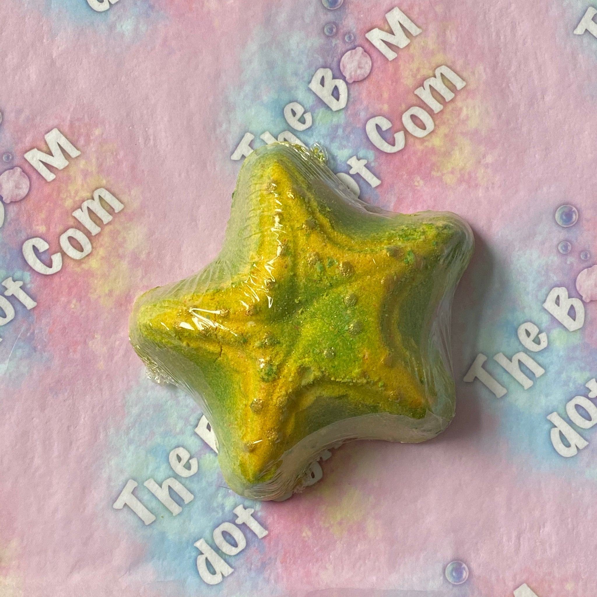 star fish bath bomb