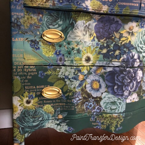 Cosmic Roses - ReDesign with Prima Decor Transfer®