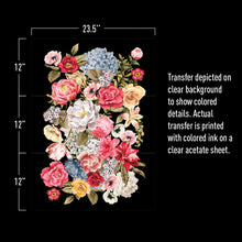 Load image into Gallery viewer, Wondrous Floral II- ReDesign with Prima Decor Transfer®