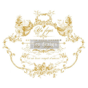 Lovely Script - ReDesign with Prima Decor Transfer®