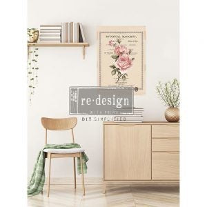 Beautiful Botanist - ReDesign with Prima Decor Transfer®