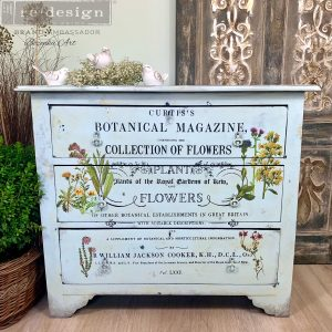 Botanical Magazine - ReDesign with Prima Decor Transfer®