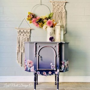 Burgundy Rose Garden - ReDesign with Prima Decor Transfer®