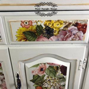 Wondrous Floral - ReDesign with Prima Decor Transfer®