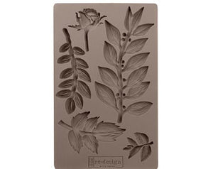 Leafy Blossoms - ReDesign with Prima Moulds