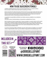 Silkscreen Stencils - Belles & Whistles® by Dixie Belle