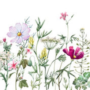 Spring Flowers with Stems - Rice Découpage Paper - Belles & Whistles® by Dixie Belle