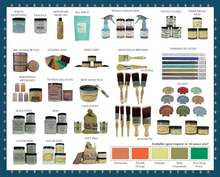 Load image into Gallery viewer, Chalk Mineral Paint -  64 Colors (32oz)