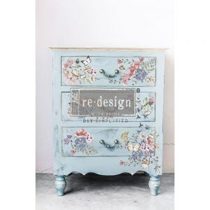 Delicate Fleur - ReDesign with Prima Decor Transfer®