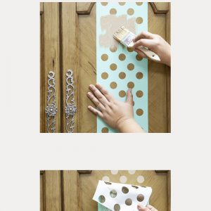 Multi Large Dot - Stick & Style® Stencil Roll