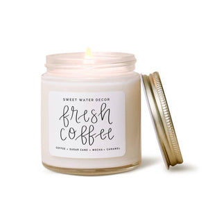 Sweet Water Decor - Fresh Coffee MINI Soy Candle