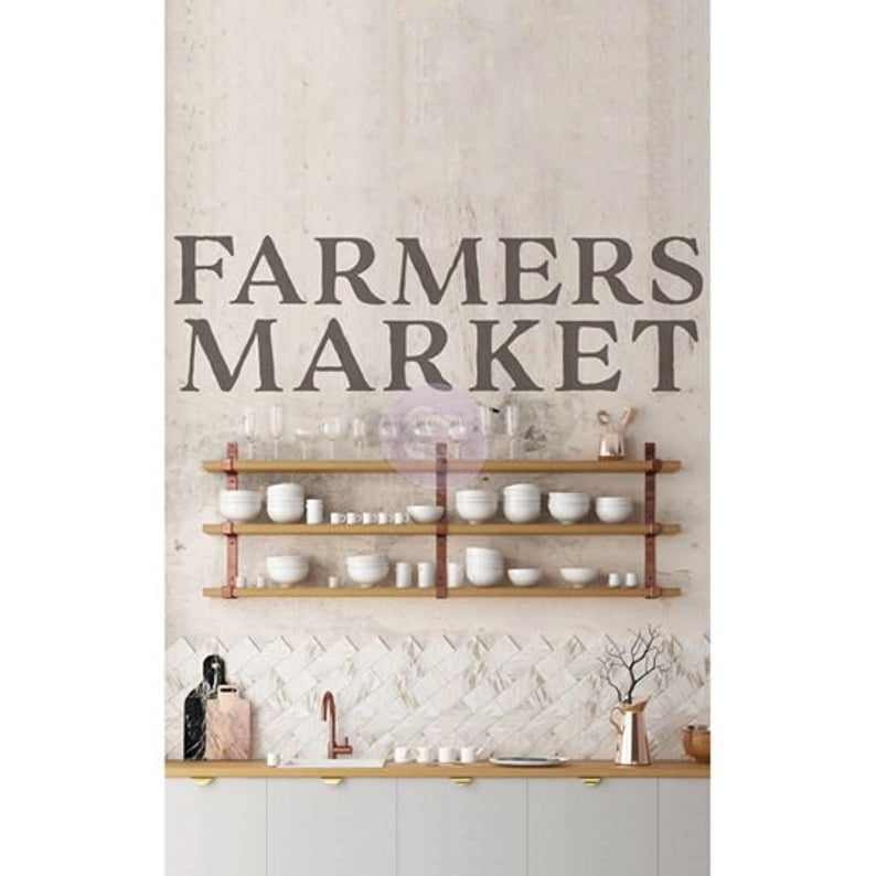 Farmers Market  - ReDesign with Prima Decor Transfer®