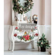 Christmas Greetings - ReDesign with Prima Decor Transfer®
