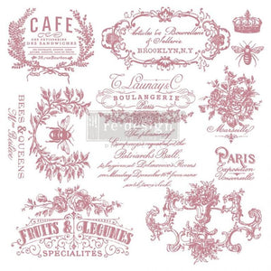 I See Paris - Cling Stamps - ReDesign with Prima