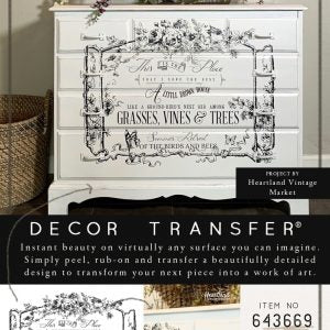 The Birds & The Bees - ReDesign with Prima Decor Transfer®