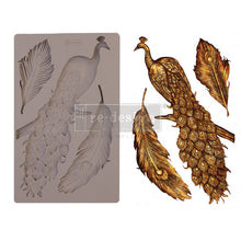 Load image into Gallery viewer, Regal Peacock - ReDesign Decor Moulds®