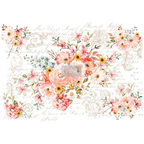 Rose Celebration - ReDesign with Prima Decor Transfer®
