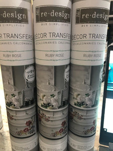 Ruby Rose - ReDesign with Prima Decor Transfer®