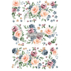 Watercolor Bloom - ReDesign with Prima Decor Transfer®