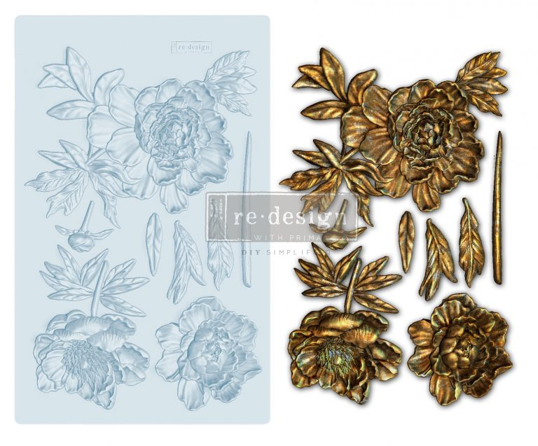Wilderness Rose - ReDesign Decor Mould®