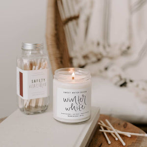 Sweet Water Decor - Winter White Soy Candle