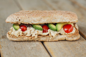 Flame Grilled Chicken Mayo & Avo Sandwich