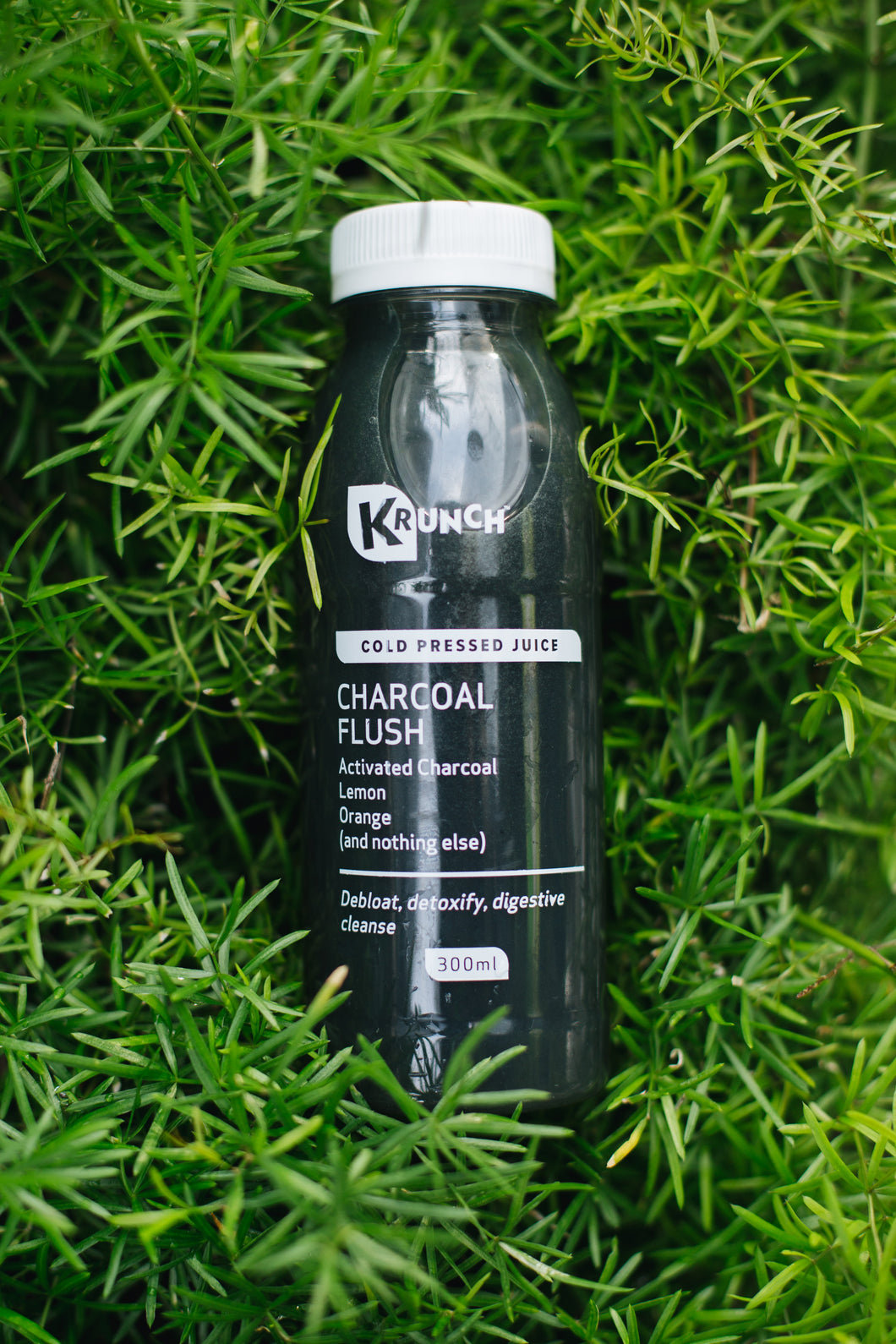 Charcoal Flush Cold Pressed Juice 300ml
