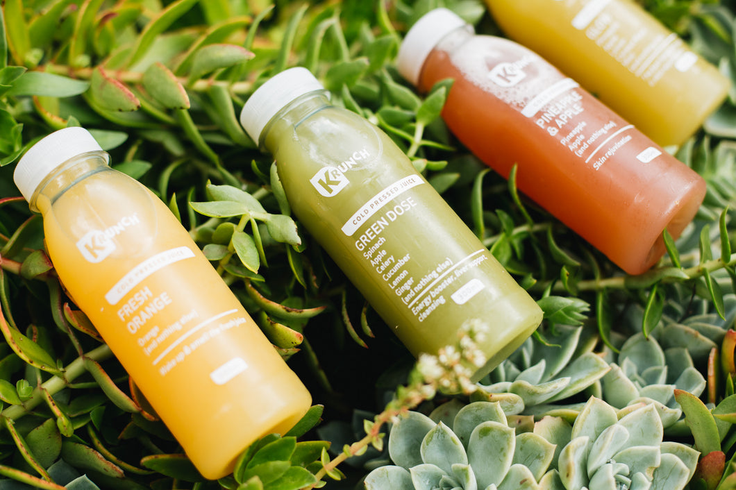 Cold Pressed Juice Subscription Box of 24 Monthly