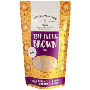 Teff Flour Brown 450g