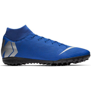 NIKE SUPERFLY X 6 ACADEMY TF- RACER BLUE/BLACK/METALIC