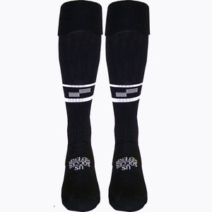 Official Sports USSF Two Stripe Ref Sock