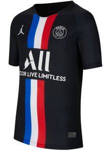 Nike Youth Jordan x Paris Saint-Germain 19/20 Stadium Fourth Jersey