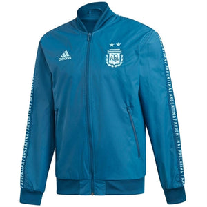 Adidas Argentina Anthem Jacket - Blue