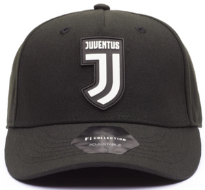 FI COLLECTIONS JUVENTUS CULT ADJUSTABLE HAT-BLACK/WHITE