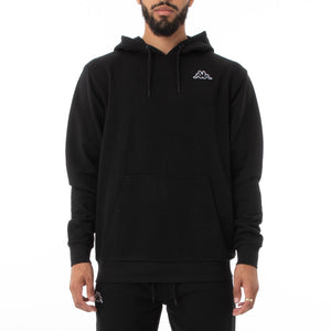KAPPA LOGO CAIOK SWEATER-Black